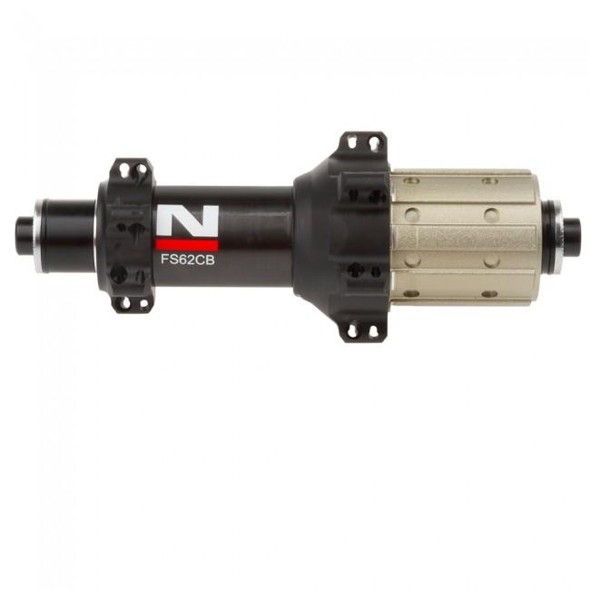 Novatec FS62CB-11S UD-Carbon Straight Pull Hinterradnabe - 24H