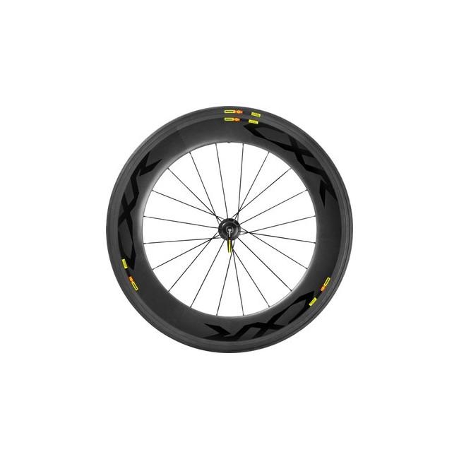 Mavic CXR Ultimate 80 T WTS Laufradsatz mit Bereifung 2016 - schwarz